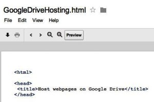 Cara Hosting Gratis di Server Google via Google Drive