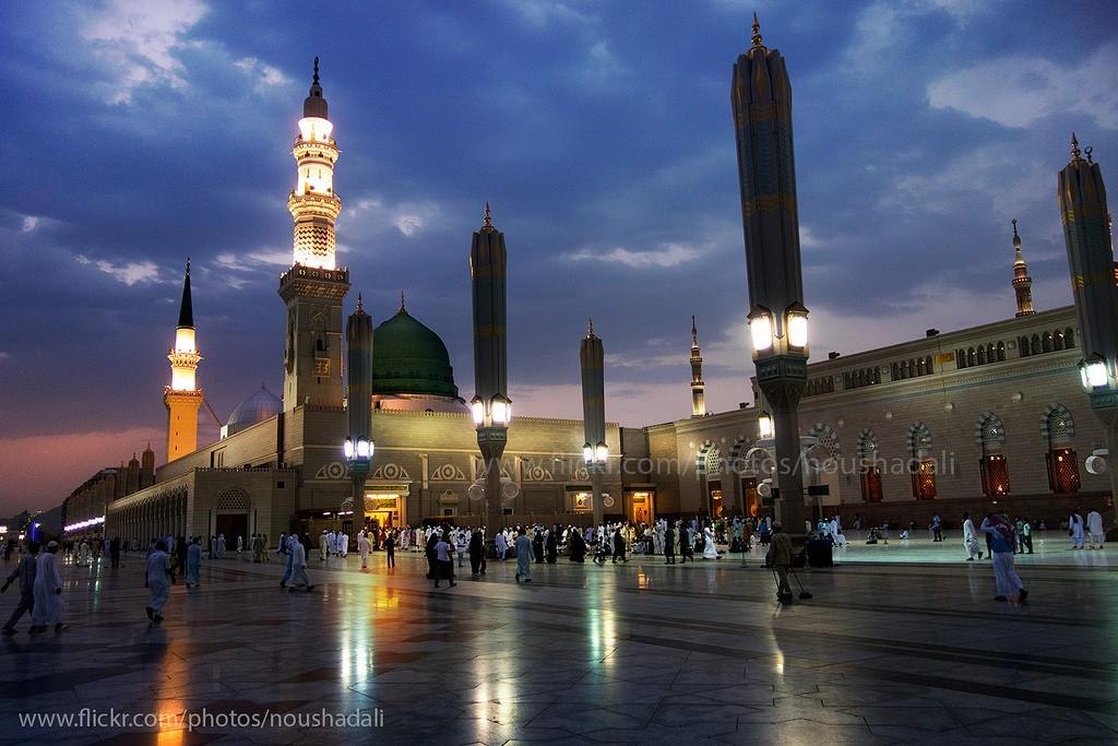 Masjid Terkenal dan Terindah di Dunia - Masjidi-Nabawi-Madinah-KSA