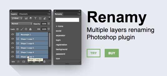 Renamy-plugin-photoshop