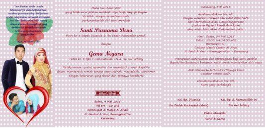 Download Desain Undangan Pernikahan Format Vector - Undangan-Santi-A-1024x498