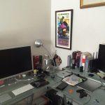 Ruang kerja pengguna Apple Mac Computer - David-fr