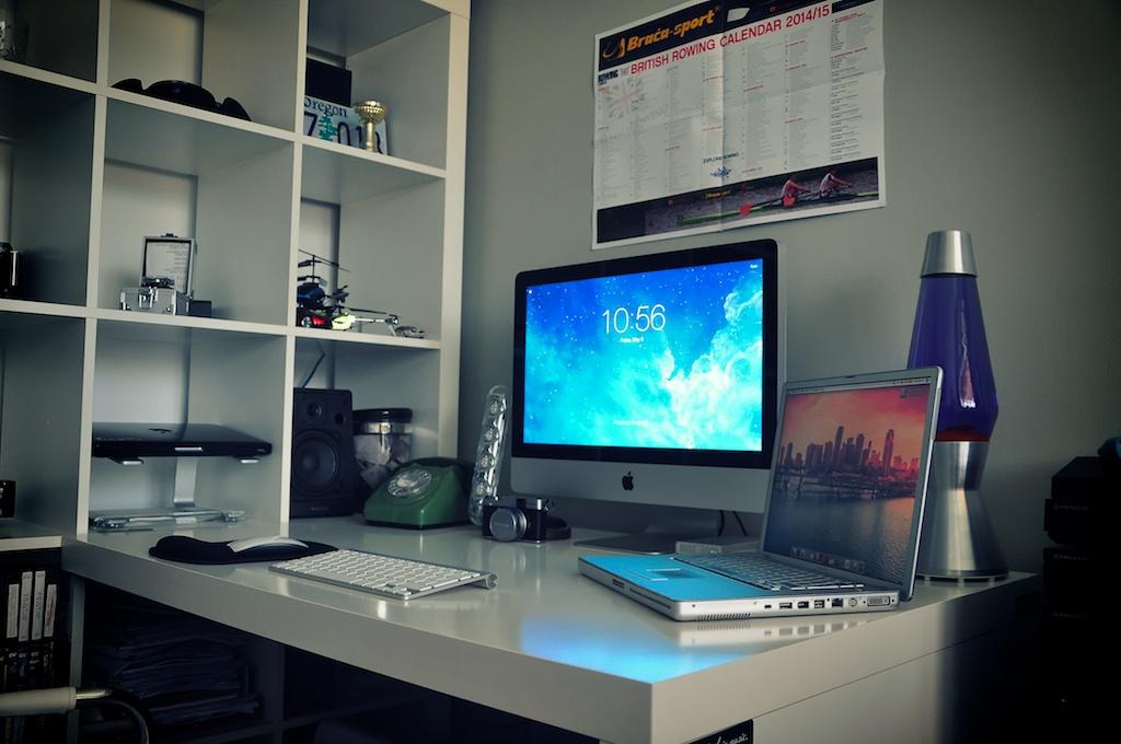 Desain Ruang Kerja Pengguna Macintosh - Ruang kerja pengguna Apple Mac Computer - Macnerd93