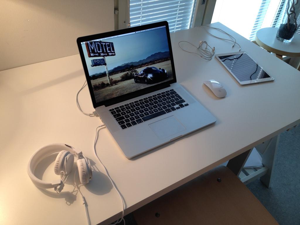 Desain Ruang Kerja Pengguna Macintosh - Ruang kerja pengguna Apple Mac Computer - Skylitfly