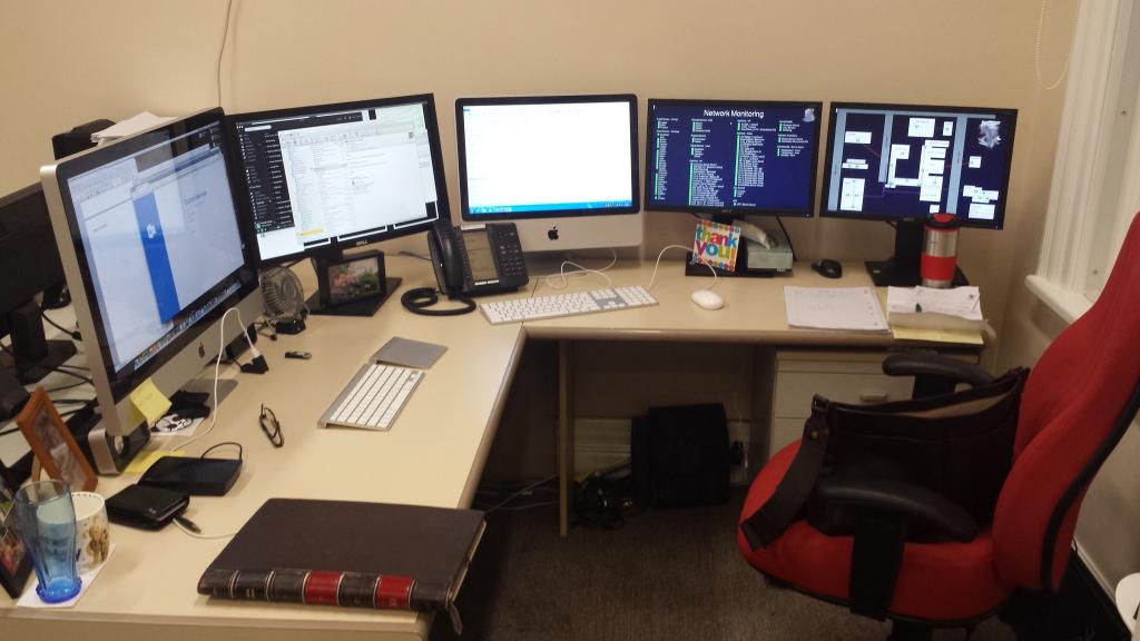 Desain Ruang Kerja Pengguna Macintosh - Ruang kerja pengguna Apple Mac Computer - daven85