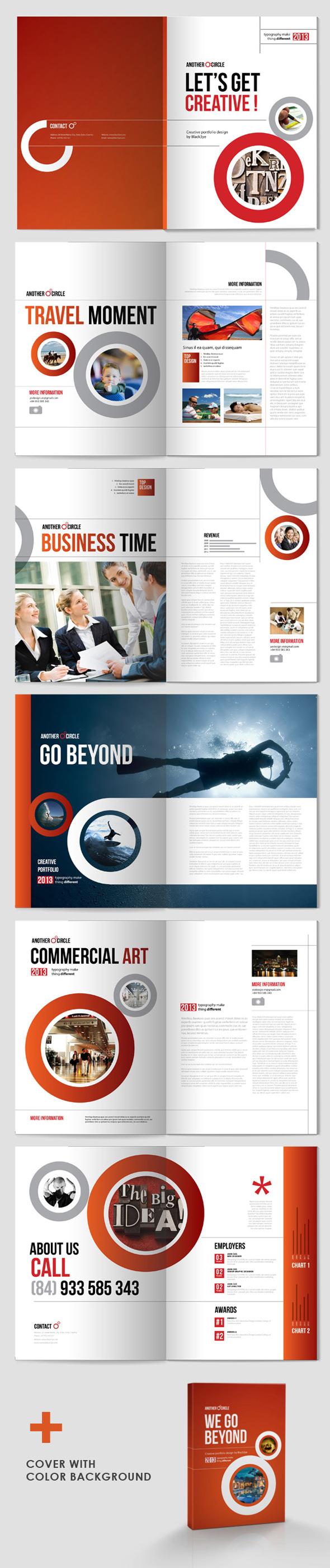 Desain Brosur Perusahaan - Brosur-Perusahaan-Another-Cirle-Brochure-1