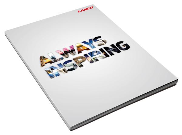 Brosur Perusahaan - Brochure design 1