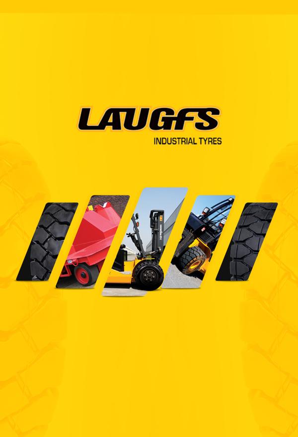 Brosur Perusahaan - LAUGFS Industrial Tyres  Corporate Profile 1