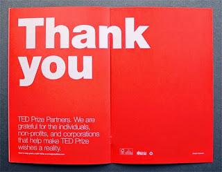 Contoh desain brosur desain kreatif - TED Creative Brochure design