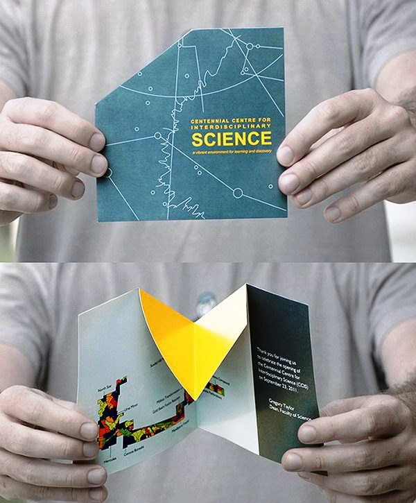 Contoh Desain Brosur Pop Up 3D Kreatif Atraktif - Desain Brosur Pop Up - CCIS Pop Up Brochure