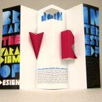 Desain Brosur Pop Up - Visual Resources Design Group Recruiting Brochure