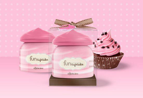 22 Contoh Konsep Desain Kemasan Produk - Konsep Desain Kemasan - Fun Cup Cake Package
