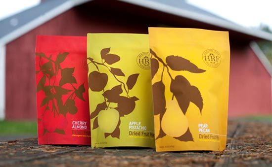 Konsep Desain Kemasan - Hood River Farms Food Brand Packaging