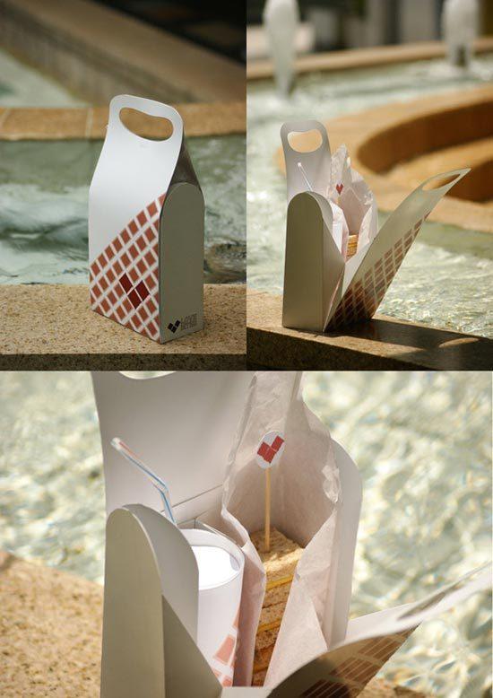 Konsep Desain Kemasan - Love Bites Cafe Packaging