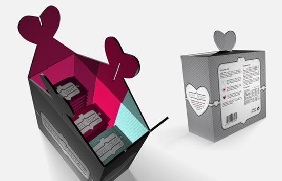 22 Contoh Konsep Desain Kemasan Produk - Konsep Desain Kemasan - Love Today. Energy Bars for lovers