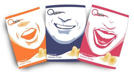 Konsep Desain Kemasan - Qtela Casava chips