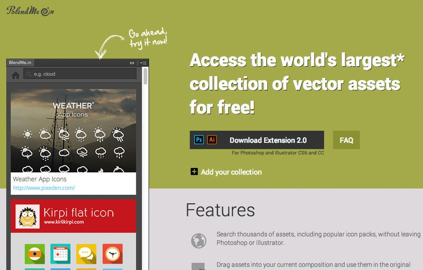 Free Plugin Photoshop untuk Desain Web dan Grafis - Free Photoshop Plugins-BlendMe.In