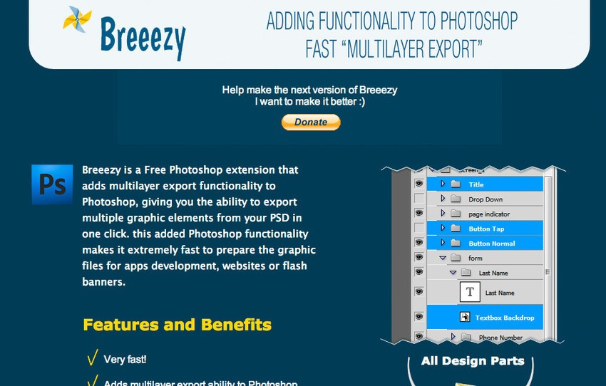 Free Photoshop Plugins-Breeezy