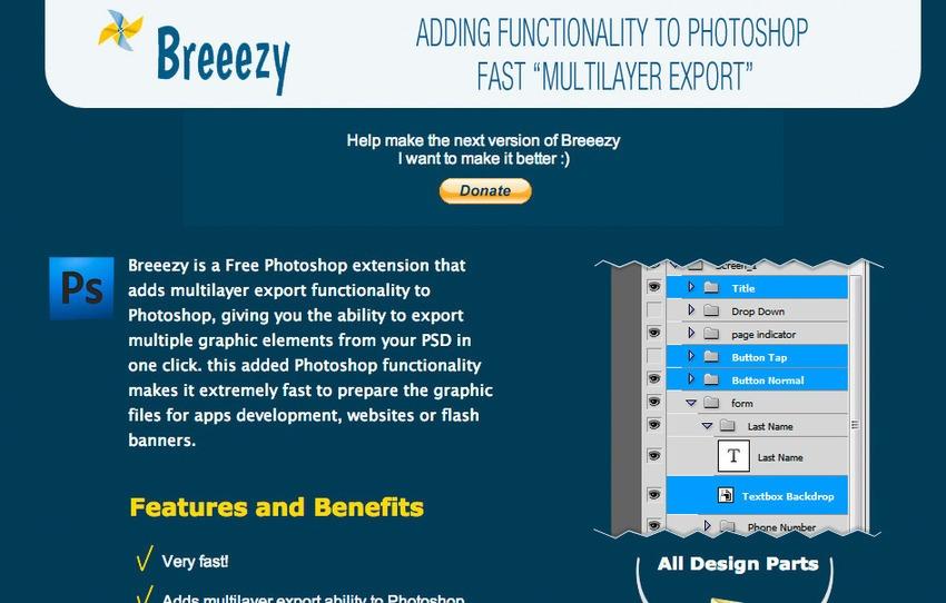 Free Plugin Photoshop untuk Desain Web dan Grafis - Free Photoshop Plugins-Breeezy