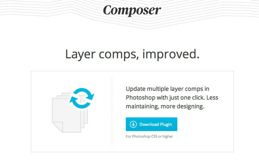 Free Plugin Photoshop untuk Desain Web dan Grafis - Free Photoshop Plugins-Composer