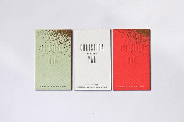 Gambar Desain Kartu Nama Terbaru - Gambar-Contoh-Desain-Kartu-Nama-Christina-Yan-by-Belinda-Love-Lee