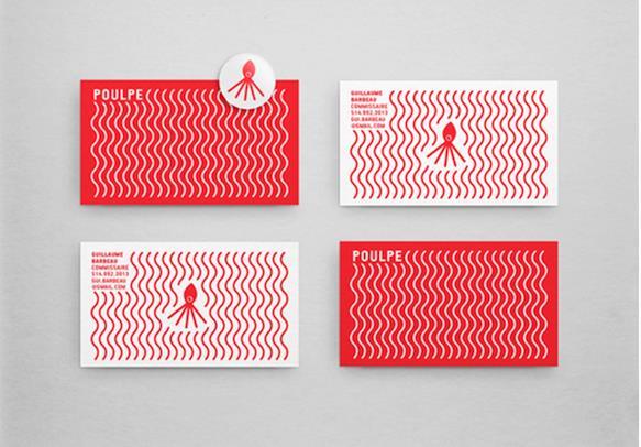 Gambar Desain Kartu Nama Terbaru - Gambar Contoh Desain Kartu Nama - Poulpe by Gabriel Jasmine