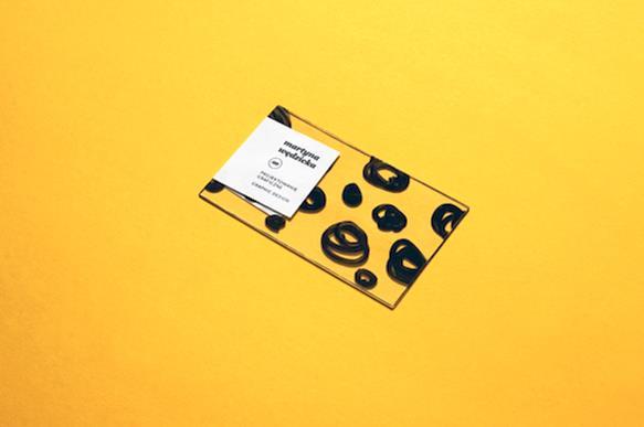 Gambar Desain Kartu Nama Terbaru - Gambar Contoh Desain Kartu Nama - Self Branding by Martina Wedzicka
