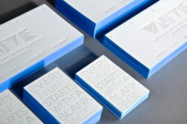 Gambar Desain Kartu Nama Terbaru - Gambar Contoh Desain Kartu Nama - Self Branding by White Branding Lab