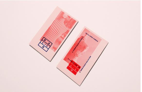 Gambar Contoh Desain Kartu Nama - Studio Dallo by Alexandra Rusu