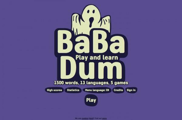 Desain Website Terbaik 2014 - Ba Ba Dum