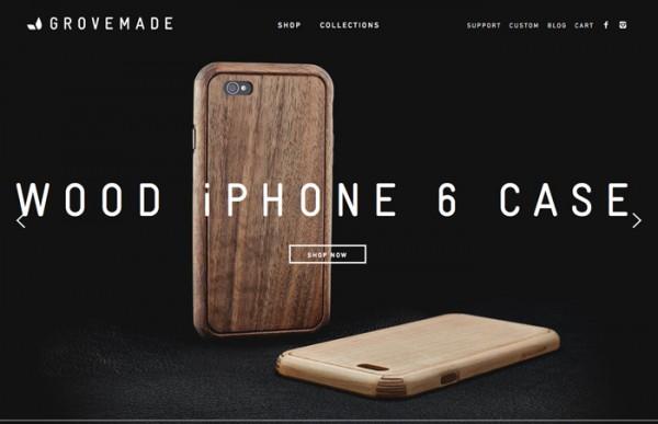 Desain Website Terbaik 2014 - Grovemade