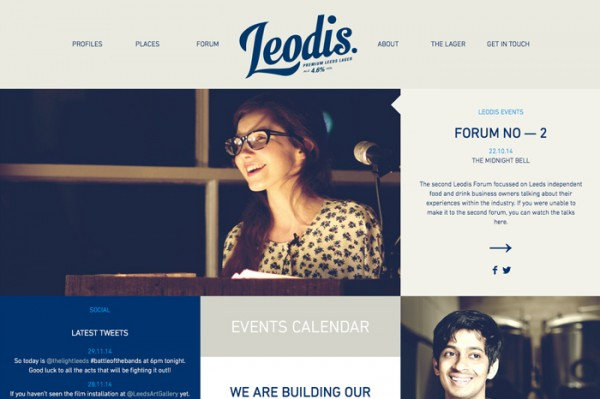 Desain Website Terbaik 2014 - Leodis