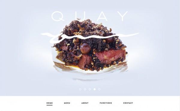 Desain Website Terbaik 2014 - Quay