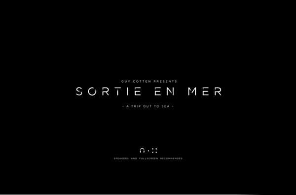 Desain Website Terbaik 2014 - Sortie En Mer