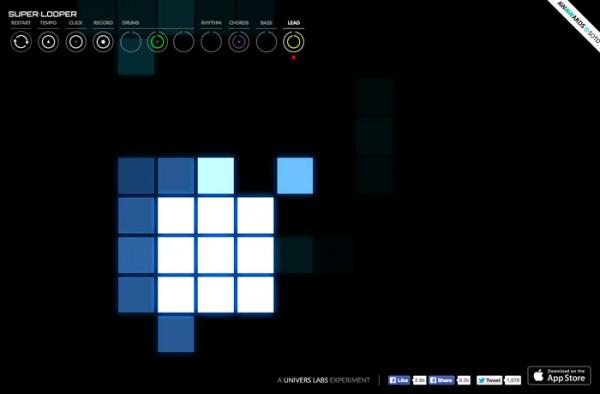 Desain Website Terbaik 2014 - Super Looper