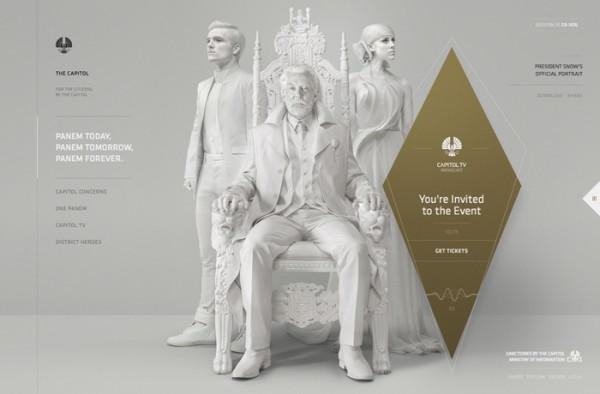 Desain Website Terbaik 2014 - The Capitol