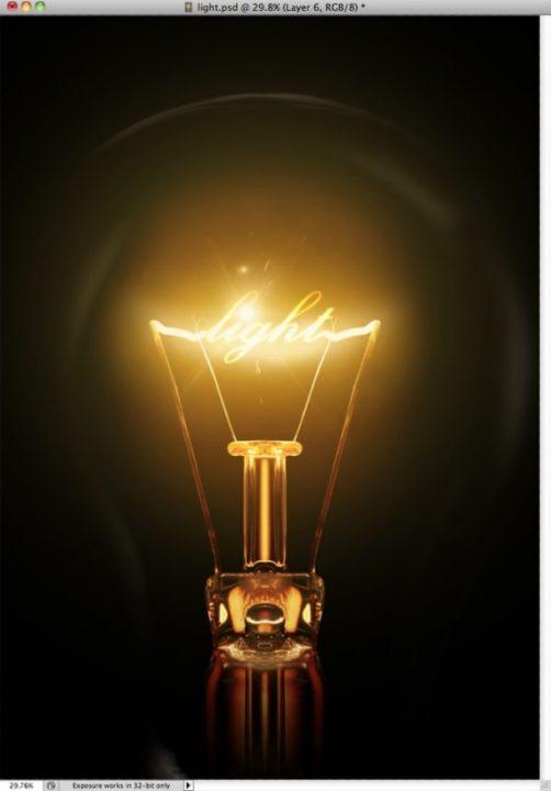 Tutorial Photoshop Membuat Effek Pencahayaan