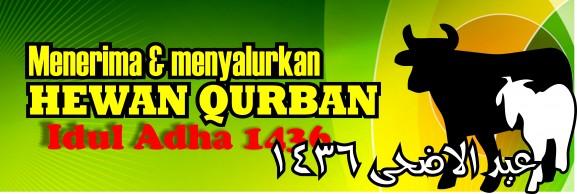 Spanduk Banner 03 Qurban Iedul Adha 1436H th 2015