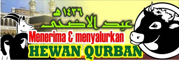 Spanduk Banner 04 Qurban Iedul Adha 1436H th 2015