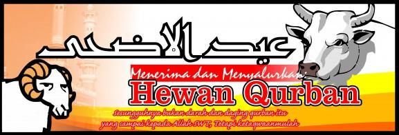 Spanduk Banner 06 Qurban Iedul Adha 1436H th 2015