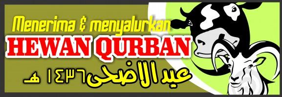 Spanduk Banner 07 Qurban Iedul Adha 1436H th 2015