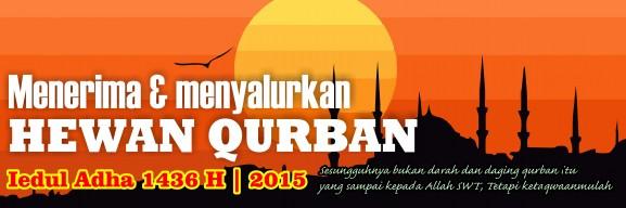 Spanduk Banner 08 Qurban Iedul Adha 1436H th 2015