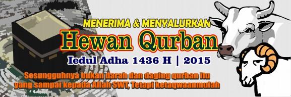 Spanduk Banner 09 Qurban Iedul Adha 1436H th 2015