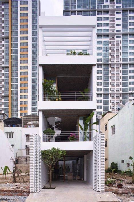 Desain Interior Terbaik Untuk Rumah Sempit - Anh House by Sanuki + Nishizawa 1