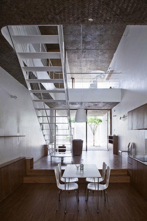 Desain Interior Terbaik Untuk Rumah Sempit - Anh House by Sanuki + Nishizawa 2