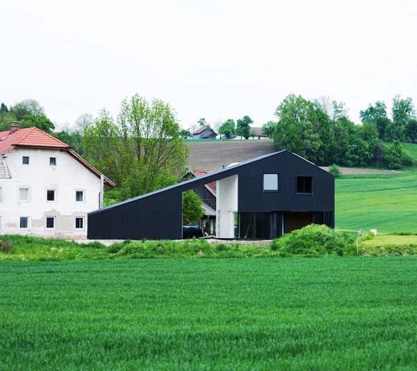 Tips Merenovasi Rumah Menjadi Type Minimalis - Interesting-minimalist-architecture-in-a-rural-landscape-little-black-dress