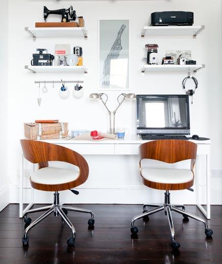 7 Tips Mendesain Kantor di Rumah - Interior kantor rumah - Side by Side
