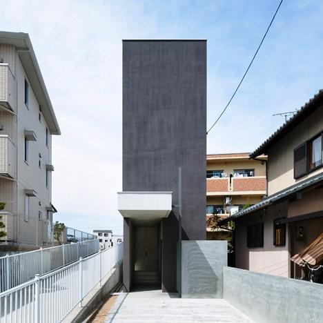 Desain Interior Terbaik Untuk Rumah Sempit - Promenade House by FORM Kouichi Kimura Architects 1