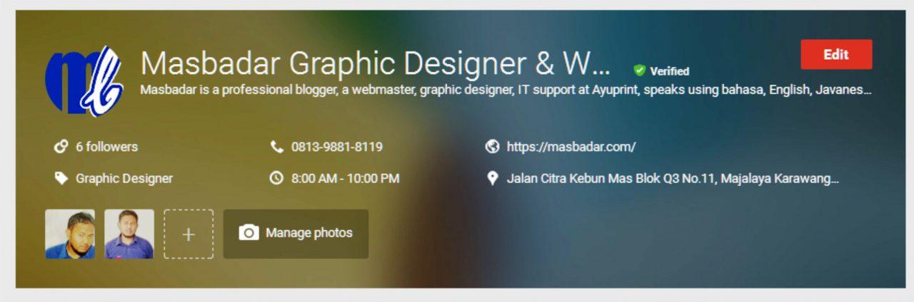 Masbadar Jasa Desain Web Terbaik dan Desain Grafis 2