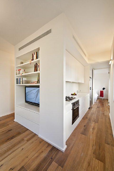 Desain Interior Apartemen Mungil Tempat Makan Apartemen Romantis