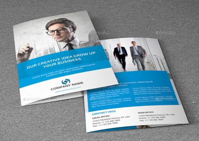 Corporate Brochure Company Profile Bisnis Perusahaan